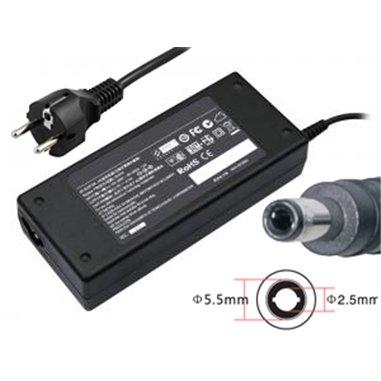 Laddare 19V 4.74A 90W 5.5x2.5mm