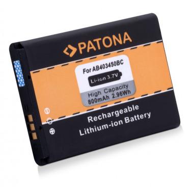 Batteri Samsung E2550 AB403450BC 800mAh