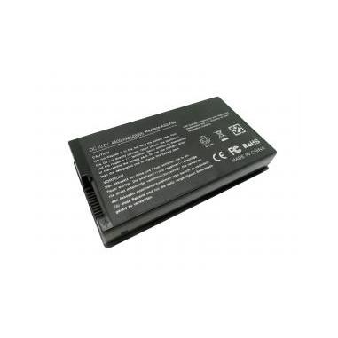Batteri Asus A32-F80 A32-F80A A32-F80H 4400mAh svart