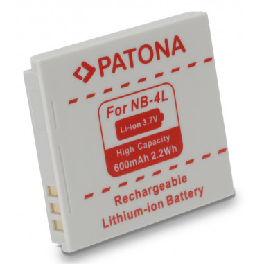 Batteri Canon NB-4L 600mAh 3.7V