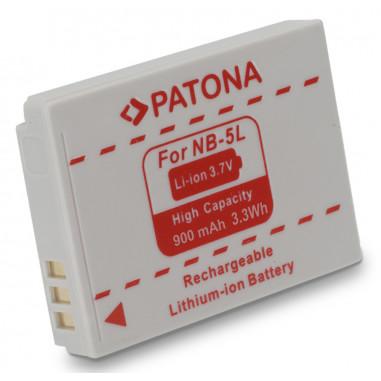 Batteri Canon NB-5L 900mAh 3.7V