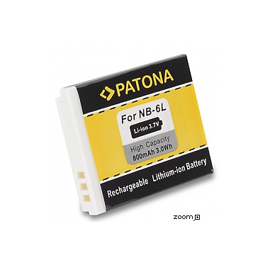 Batteri Canon NB-6L 800mAh 3.7V