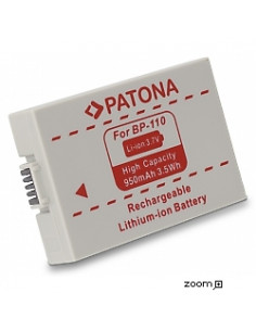 Batteri Canon BP-110 950mAh 3.7V