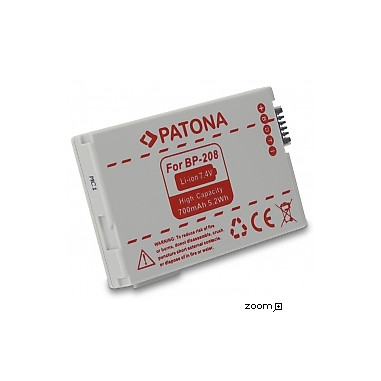 Batteri Canon BP-208 700mAh 7.4V
