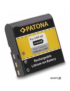 Batteri Casio NP-40 1000mAh 3.6V