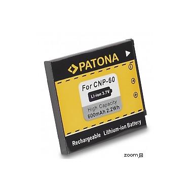 Batteri Casio NP-60 600mAh 3.7V
