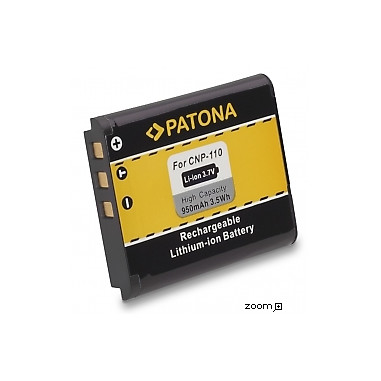 Batteri Casio NP-110 NP-160 950mAh 3.7V