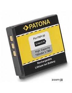 Batteri Fuji NP-50 750mAh 3.7V