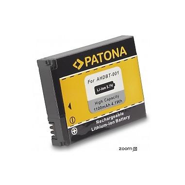 Batteri GoPro AHDBT-001 1100mAh 3.7V