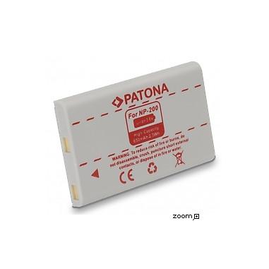 Batteri Minolta NP200 650mAh 3.6V