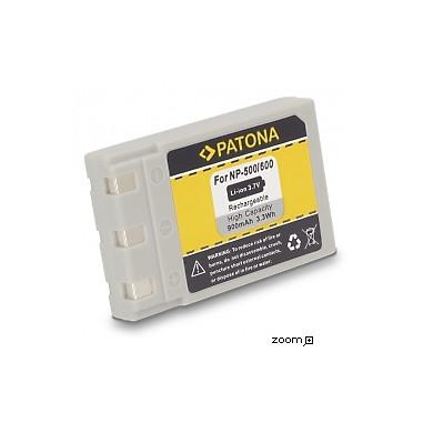 Batteri Minolta DRLB4 NP500 NP600 900mAh 3.7V