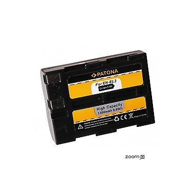 Batteri Nikon EN-EL3 1300mAh 7.4V