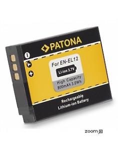 Batteri Nikon EN-EL12 800mAh 3.7V