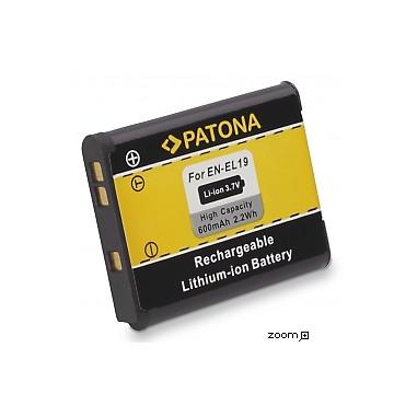 Batteri Nikon EN-EL19 600mAh 3.7V