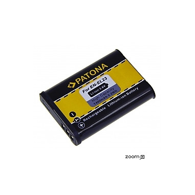 Batteri Nikon EN-EL23 1400mAh 3.8V