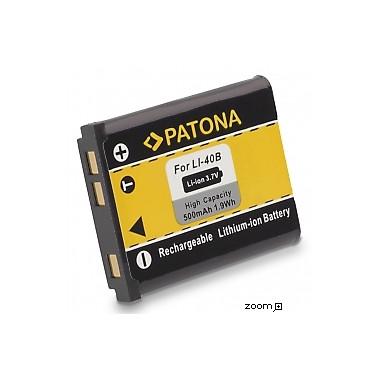 Batteri Olympus Li-40b 500mAh 3.7V
