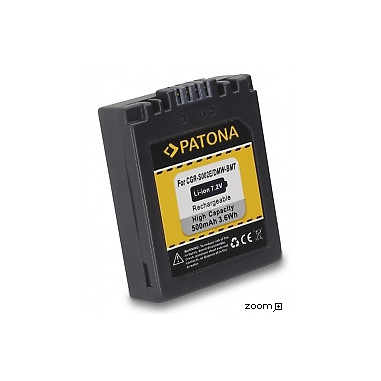 Batteri Panasonic DMW-BM7 500mAh 7.2V