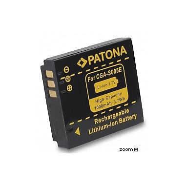 Batteri Panasonic CGA-S005 1000mAh 3.7V