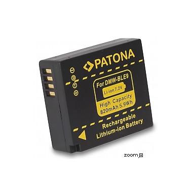 Batteri Panasonic DMW-BLE9 820mAh 7.2V