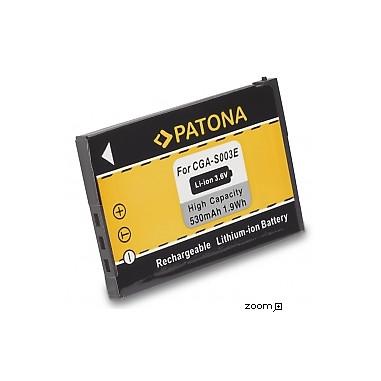 Batteri Panasonic CGA-S003 600mAh 3.6V