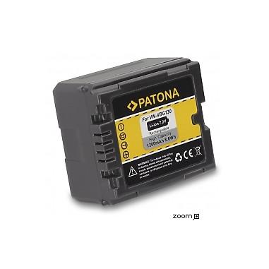 Batteri Panasonic VW-VBG130 1200mAh 7.2V