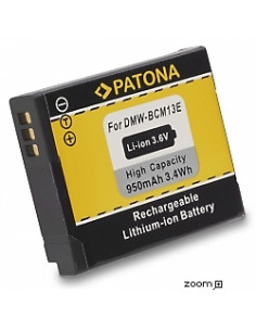 Batteri Panasonic DMW-BCM13 950mAh 3.6V