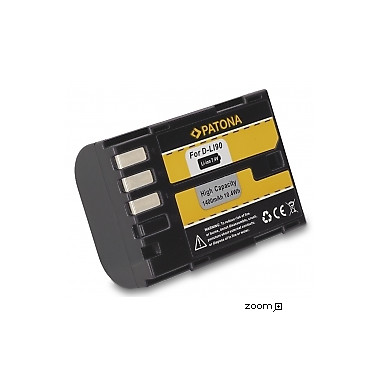 Batteri Pentax D-Li90 1400mAh 7.2V