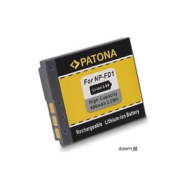 Batteri Sony NP-FD1 BD1 680mAh 3.6V