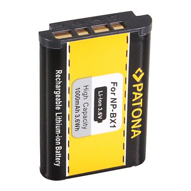 Batteri Sony NP-BX1 1000mAh 3.6V