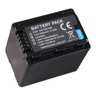 Batteri Panasonic VBT-380 3560mAh