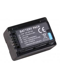 Batteri Panasonic VBT-380 1780mAh