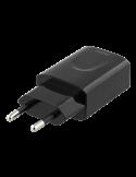 Väggladdare USB 2.4A svart