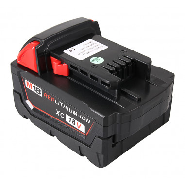 Batteri f�r Milwaukee 18V Li-Ion 5000mAh M18