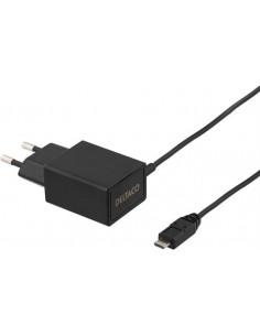 Väggladdare Micro-USB 2.1A svart