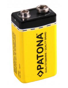 9V lithium batteri 6LR61 ER9V Li-ion 1200mAh för brandvarnare