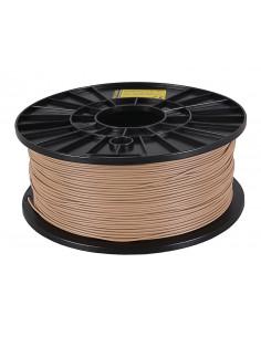 Filament 1kg PLA 1,75mm för 3D-skrivare brun / träfärg