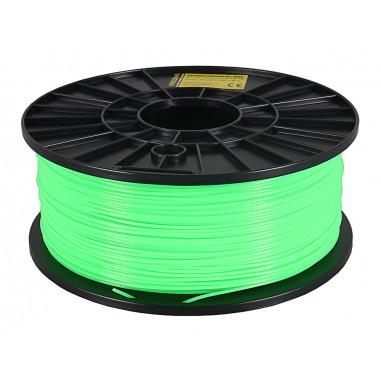 Fluorescerande filament 1kg PLA 1,75mm för 3D-skrivare grön