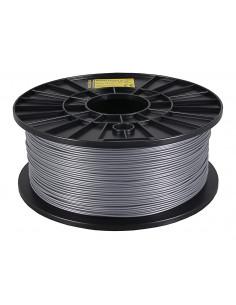 Filament 1kg PLA 1,75mm för 3D-skrivare silver