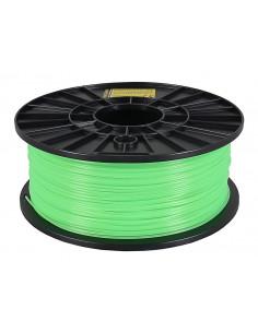 Självlysande filament 1kg PLA 1,75mm för 3D-skrivare grön