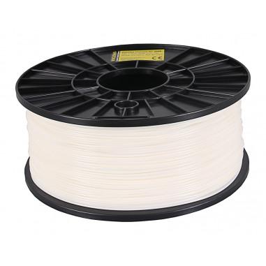 Filament 1kg ABS 1,75mm för 3D-skrivare vit