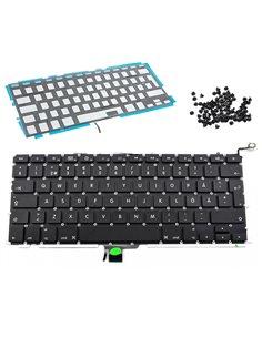 Tangentbord för MacBook Pro 13 A1278 svenskt backlit