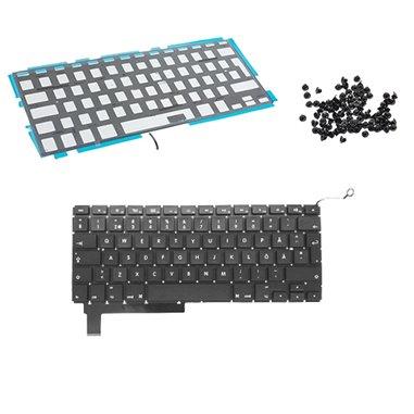Tangentbord för MacBook Pro 15 A1286 svenskt backlit