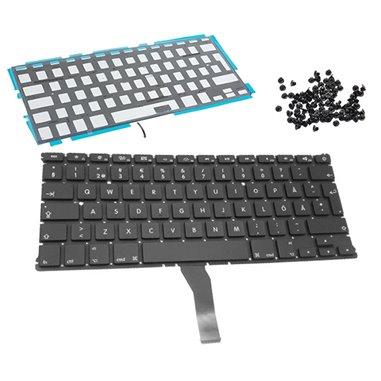 Tangentbord för MacBook Air 13 A1369 A1466 svenskt backlit