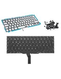 Tangentbord för MacBook Air 11 A1370 A1465 svenskt backlit