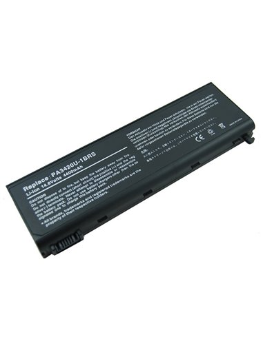 Batteri för Toshiba Satellite L10 Series 4400mAh