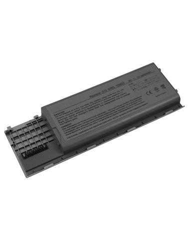 Batteri för Dell Latitude D620 4400mAh