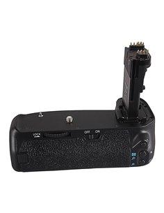 Batterigrepp för Canon BG-E14H EOS 70D 80D LP-E6 med fjärrkontroll