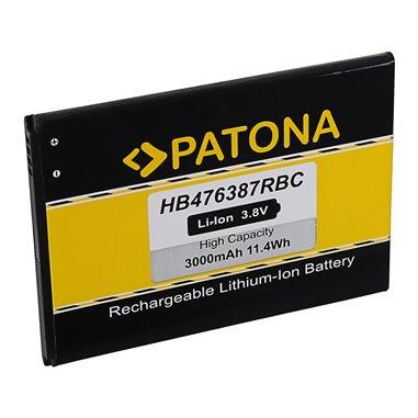 Batteri för Huawei HB476387RBC 3000mAh