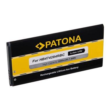Batteri för Huawei HB474284RBC 2000mAh