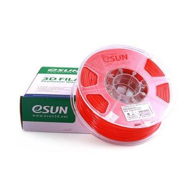 Filament eSUN 1kg PLA+ 1,75mm för 3D-skrivare röd, extra stark